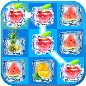 Frozen Fruit Ice Cubes Connect icon