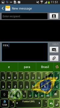 Adaptxt Brazil Football Theme poster