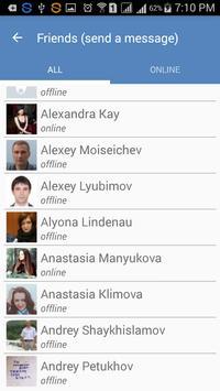 Fast Messenger for VK apk screenshot