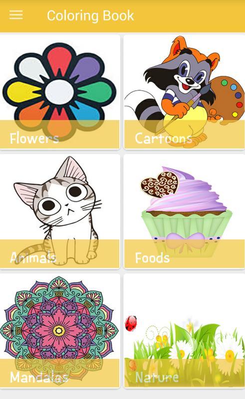 Color Book Easy and Free Descarga APK - Gratis Educativos Juego para ...