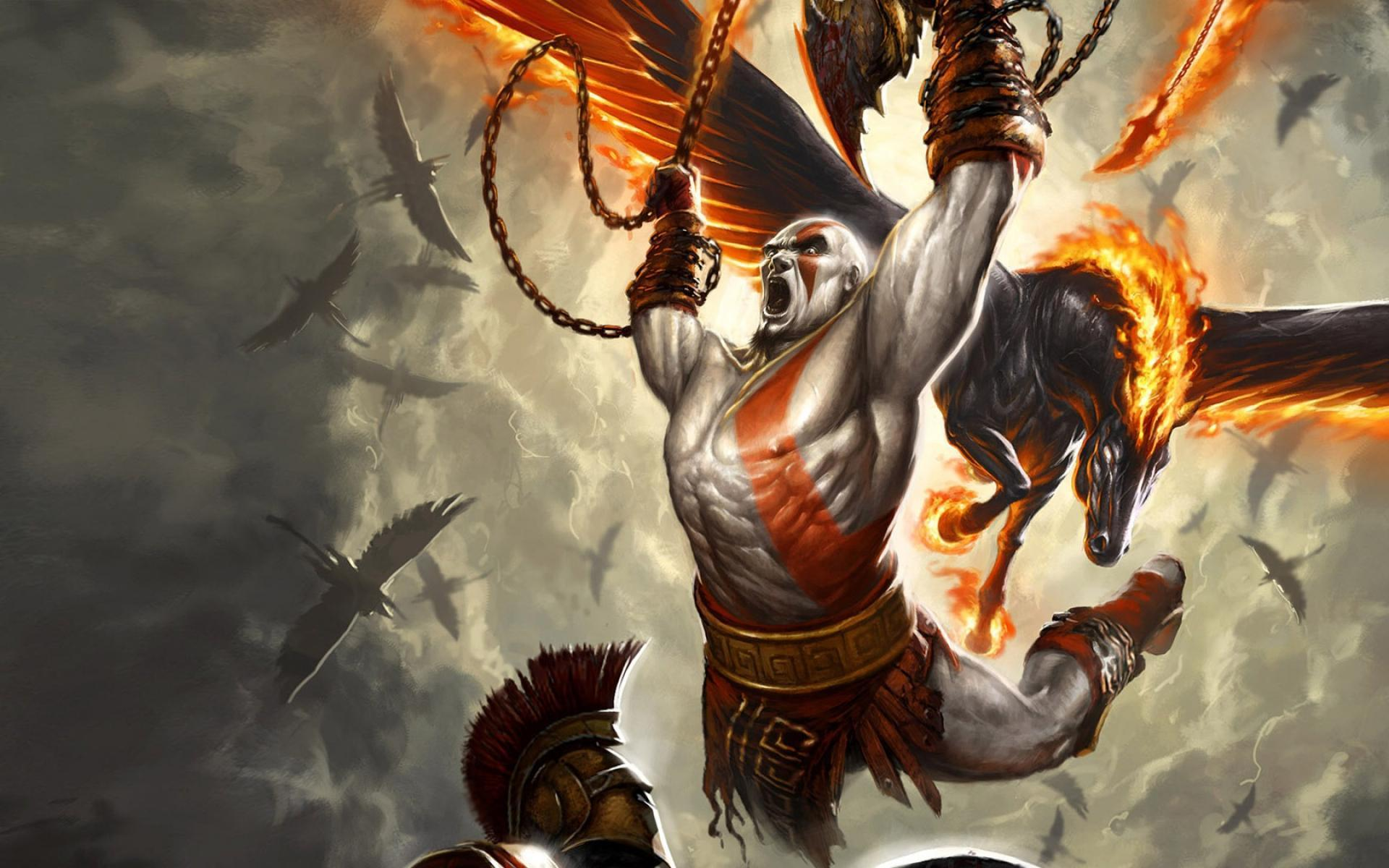 Character Kratos Wallpaper Hd For Android Apk Download