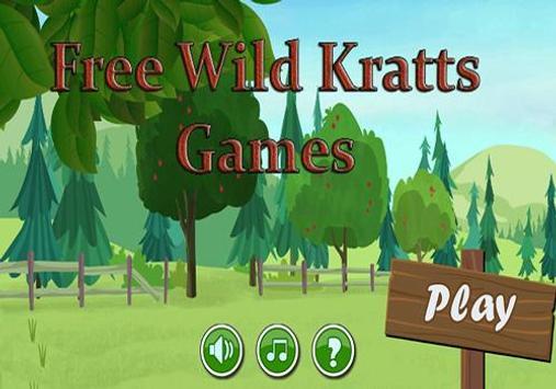 Wild Adventure Kratts Games poster