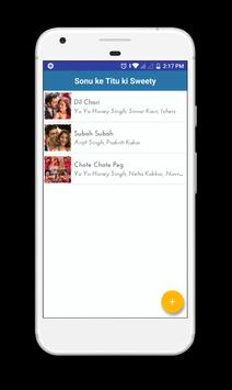 Sonu ke Titu ki Sweety Lyrics apk screenshot
