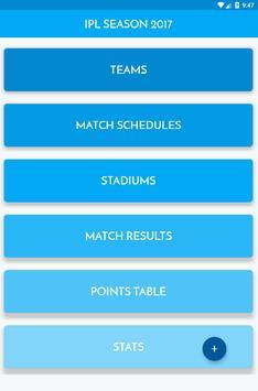 Info of IPL 2017 apk screenshot
