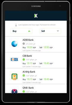 EGP - USD Exchange سعر الدولار apk screenshot
