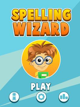 Spelling Wizard Learning Game poster