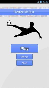 Football Kits Quiz poster