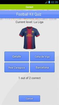 Football Kits Quiz apk screenshot