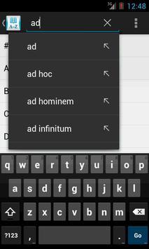 Advanced English Dictionary apk screenshot