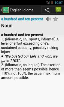 English Idioms screenshot 6