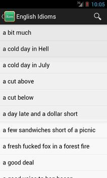 English Idioms screenshot 3