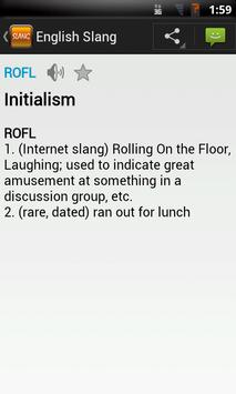 English Slang Dictionary apk screenshot