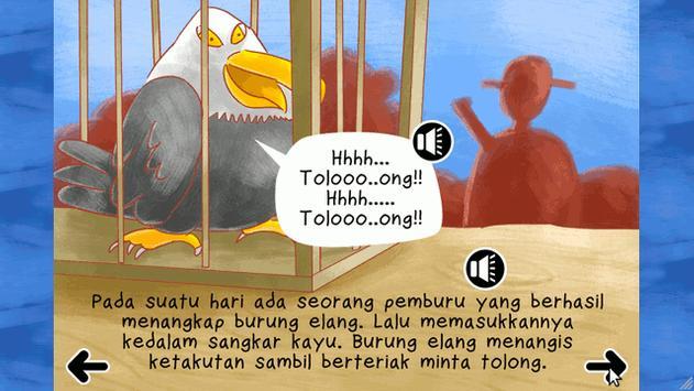 KreaBook - Sang Elang dan Burung Pelatuk screenshot 1
