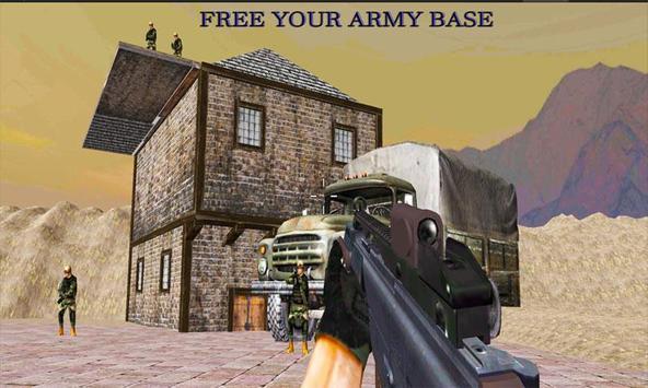 Commando Strike Army Base Ops apk screenshot