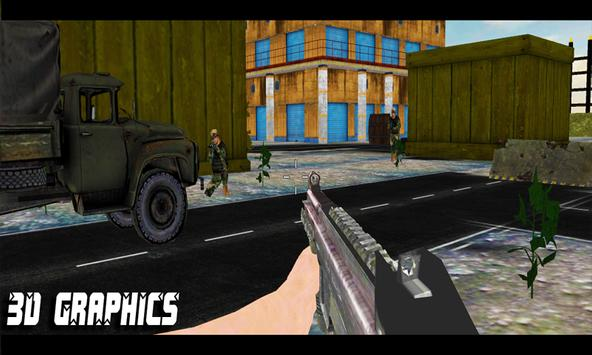 Critical Commando Strike 3D apk screenshot