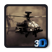 Commando Warship Helicopter 3D icon