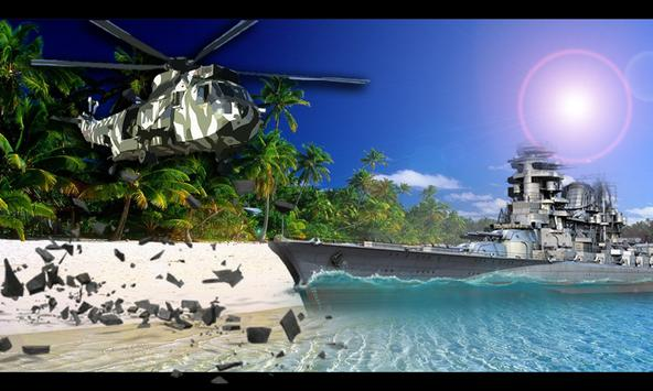 Commando Warship Helicopter 3D screenshot 5