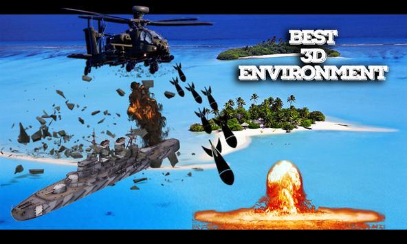 Commando Warship Helicopter 3D screenshot 6