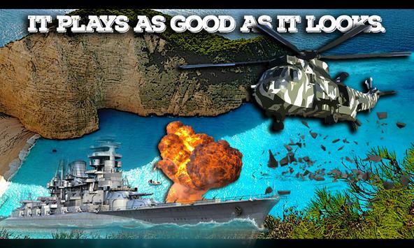 Commando Warship Helicopter 3D apk screenshot