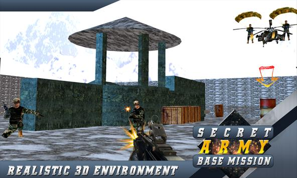 US Army Base Front Line Sniper apk screenshot