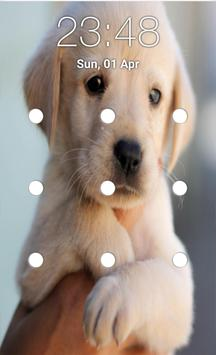 puppy pattern lock screen screenshot 2