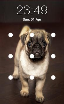 puppy pattern lock screen screenshot 3