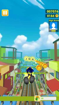 Subway Sonic Run Cartaz