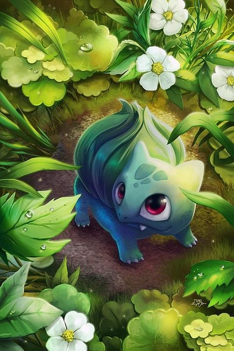 Grass Type Pokemon Wallpapers For Android Apk Download
