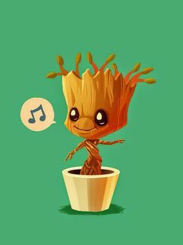 Cool Baby Groot Wallpapers screenshot 3