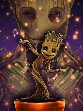Cool Baby Groot Wallpapers screenshot 4