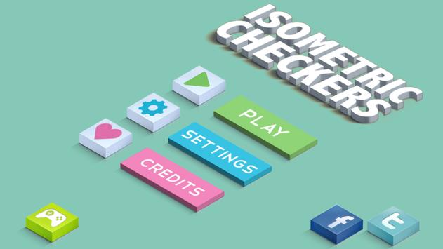 Isometric Checkers poster