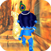 Krishna Temple Running Game icon