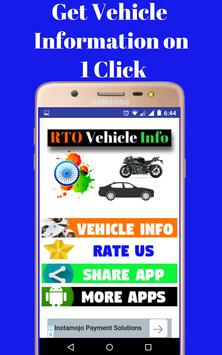 RTO Vehicle Info poster