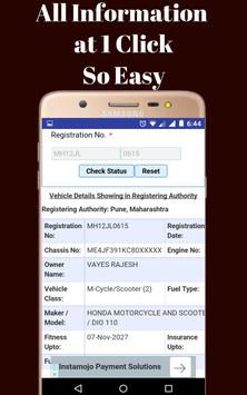 RTO Vehicle Info screenshot 2