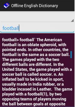 English++ Offline Dictionary screenshot 1