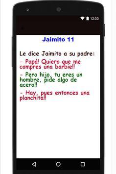 ... Chiste Muy Gracioso De Jaimito apk screenshot ...