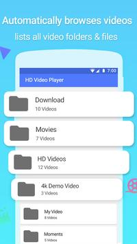 Full HD Video Player screenshot 2