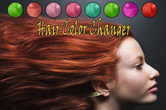 Cheveux Couleur Changeur poster