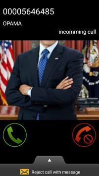 President Call Prank poster