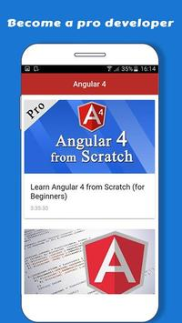 Learn Angular 6 screenshot 4