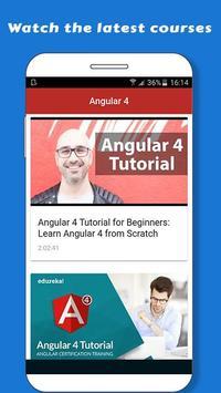 Learn Angular 6 poster