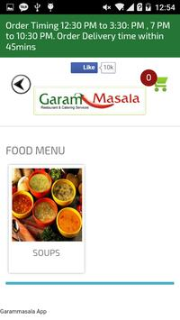 Garammasala apk screenshot