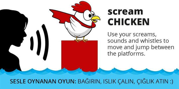 Scream Chicken poster
