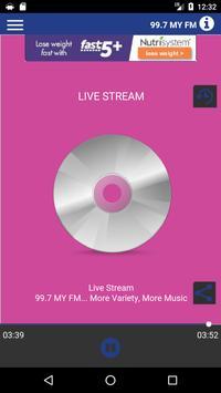 99.7 MyFM poster