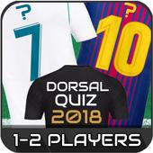 Dorsal Quiz icon