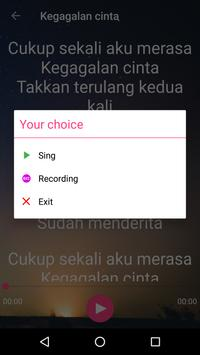 Karaoke Dangdut Offline Full 🎤 скриншот 3