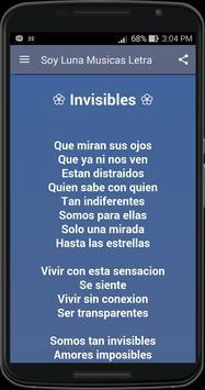 Soy Luna Músicas y Letra screenshot 1