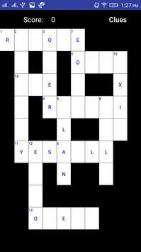 Crossword Krrida apk screenshot