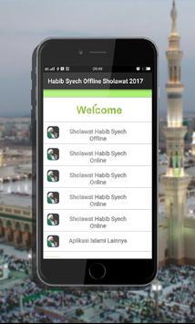 Habib Syech Offline Sholawat 2018 poster