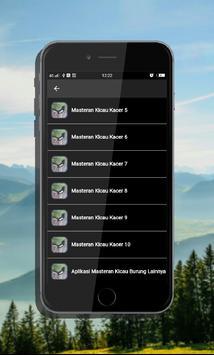 Kicau Kacer Offline Mp3 screenshot 3
